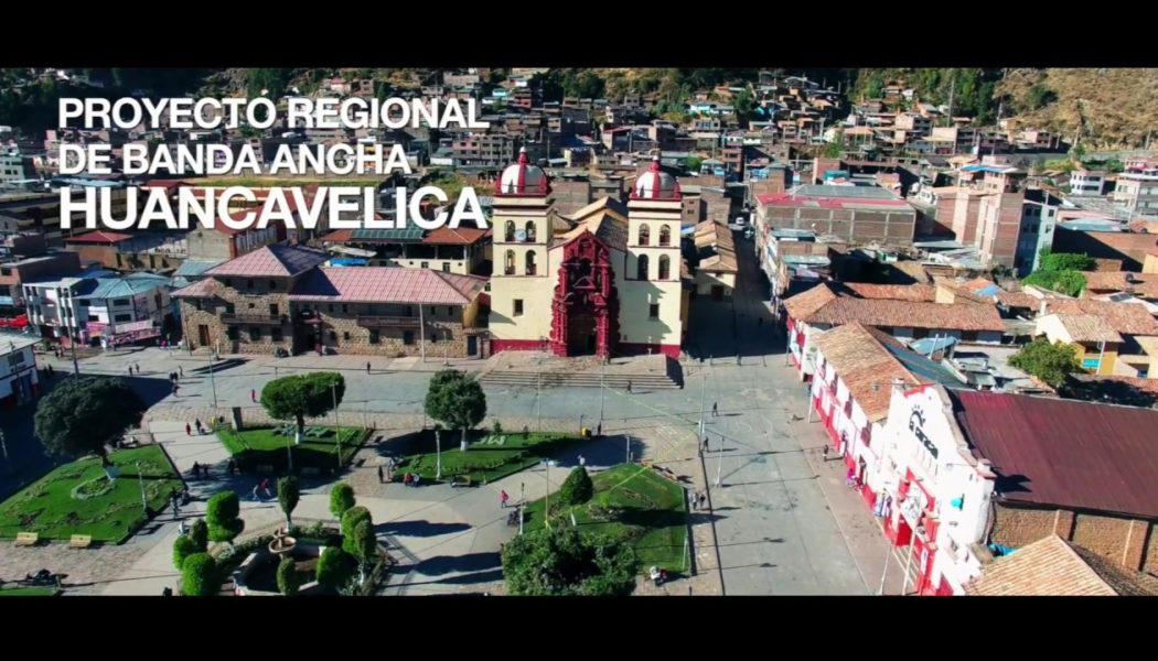 Proyecto Banda Ancha Región Huancavelica
