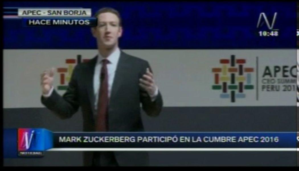 """Video: Conferencia de Marck Zuckerberg en Lima """"La Revolución de la Conectividad"""""""