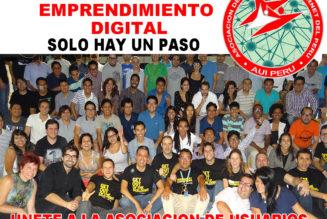 REDUCIR LA BRECHA DIGITAL PERUANA, ese es el objetivo!