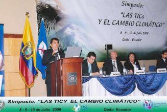 LAS TICs Y EL CAMBIO CLIMÁTICO, algunas pautas para iniciativas legislativas